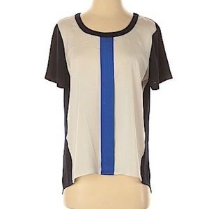 J. Crew Factory Short Sleeve Blouse